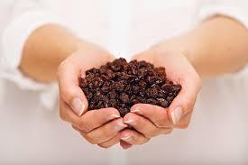 Suvo grozdje za Zdrava hranaDanas